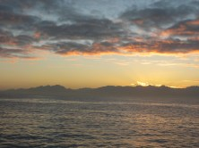 Sunrise on False Bay
