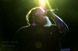 Action Bronson performing at SUNY New Paltz. Photo by Marisa Losciale/Apr. 2015