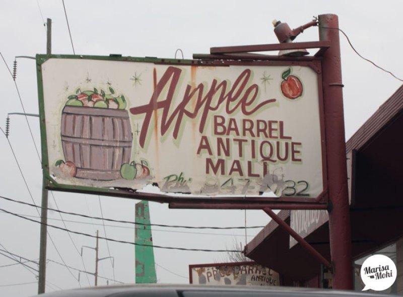 apple barrel antique mall 10th street