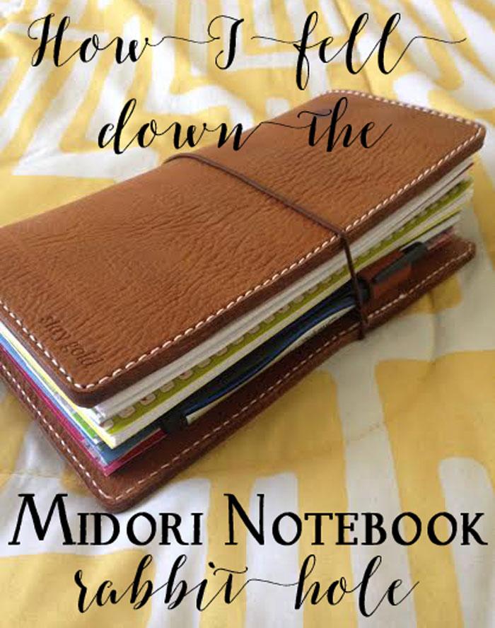 How I fell down the Midori notebook rabbit hole