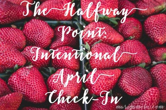 Intentional April