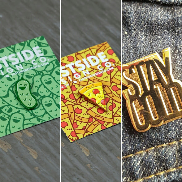 Eastside Design Co. enamel pins