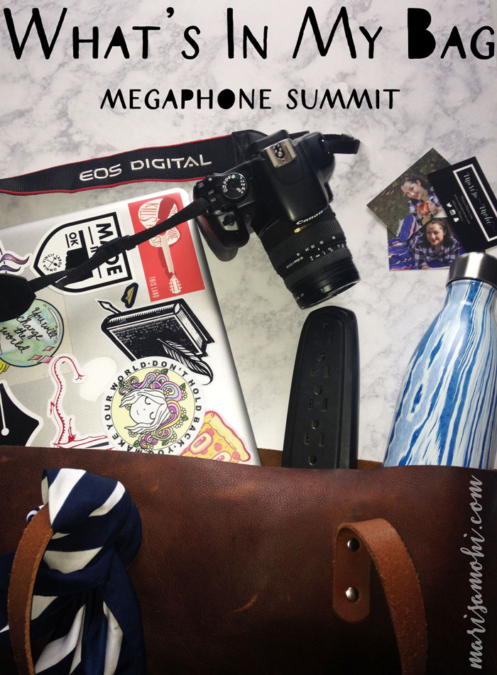 What's In My Bag – Megaphone Summit Edition