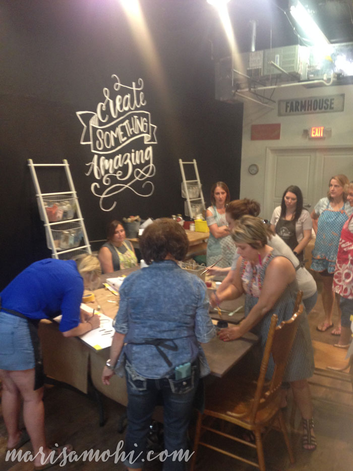 Spruced Cooperative in Edmond Painting Class