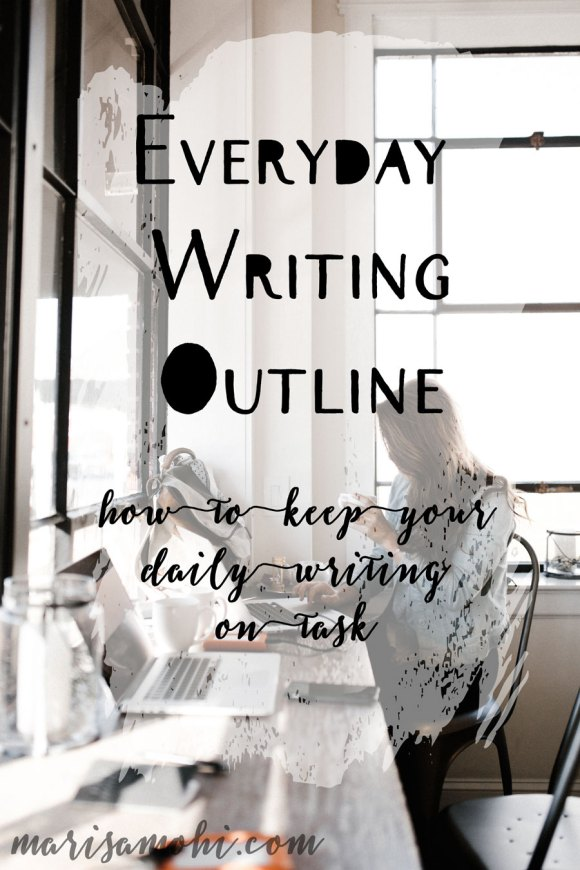 This Everyday Writing Outline will help you with emails or any writing you do for your job!