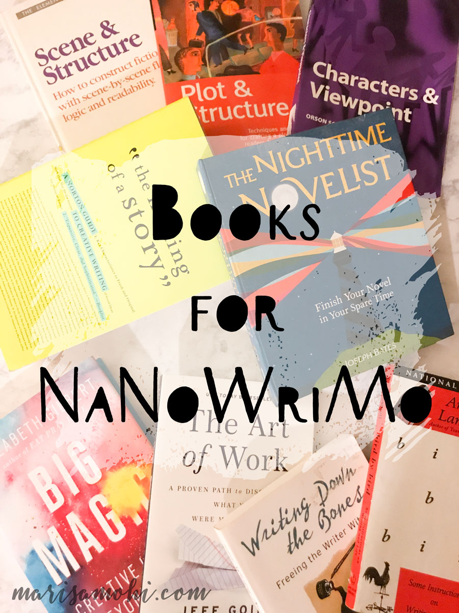 Books for NaNoWriMo