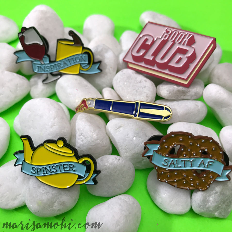 Pins from the Marisa Mohi Shop