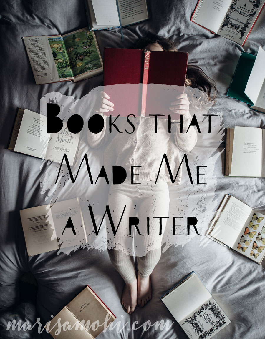 Books That Made Me a Writer