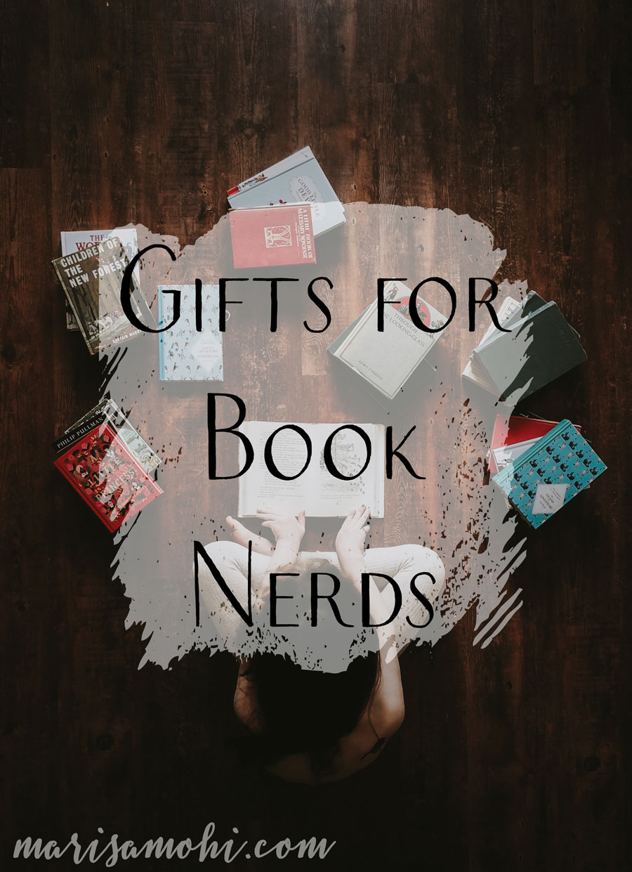 Gifts for Book Nerds | These gifts for book nerds are great if you have a bookworm on your Christmas list, but don't want to just get them books!