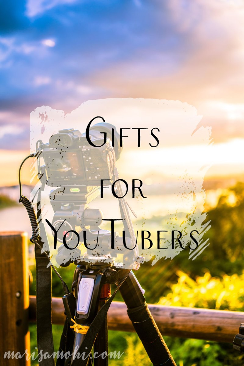 Gifts for YouTubers | These gifts for YouTubers are perfect for multiple price points and different skill levels!