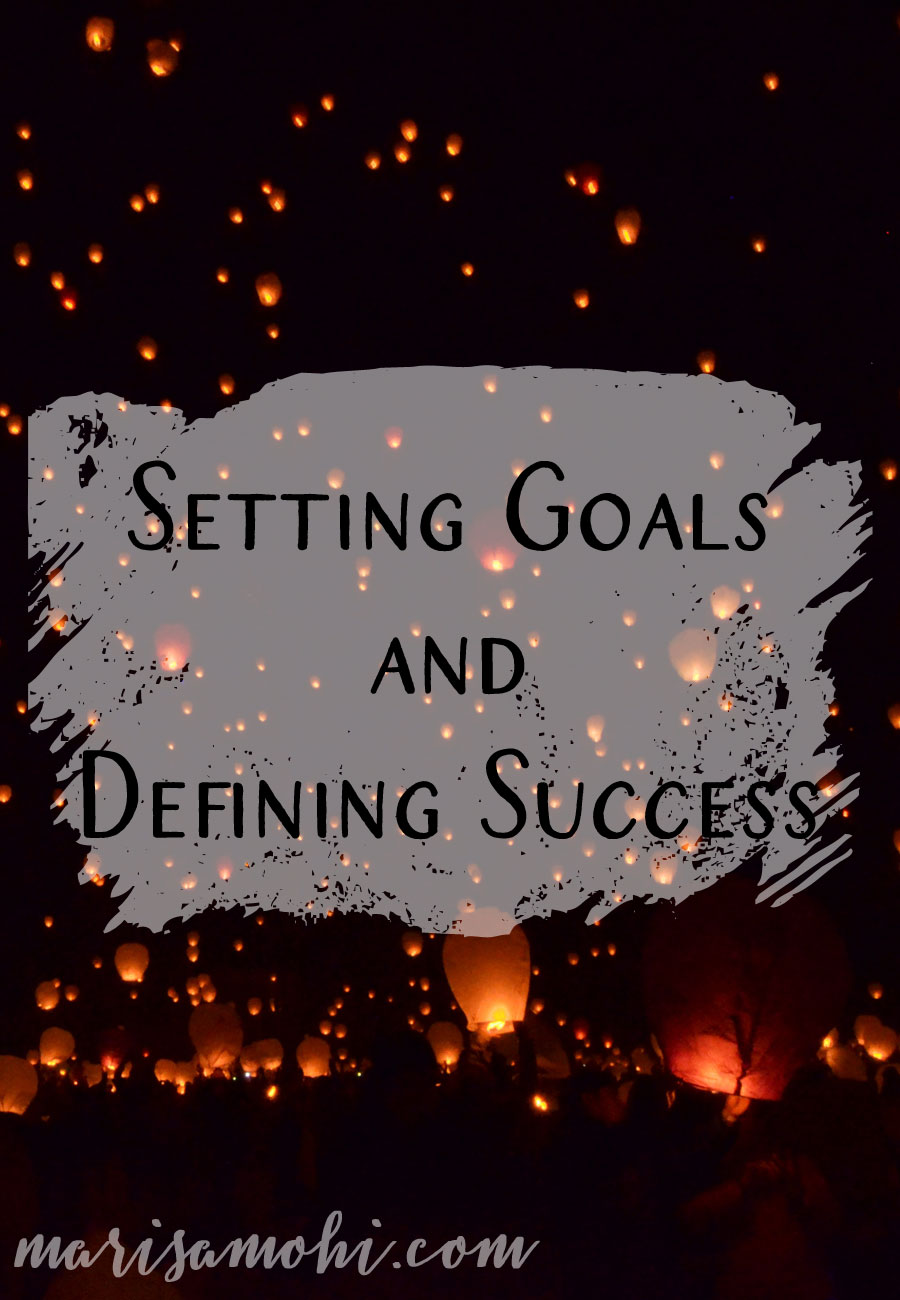 Setting Goals and Defining Success | Setting goals and defining success is key when it comes to having a happy, healthy, and productive creative life. Here are my tips for setting goals and defining success.
