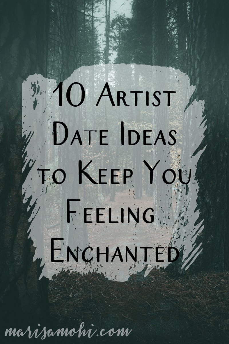 10 Artist Date Ideas to Keep You Feeling Enchanted | Sometimes, burn out comes for you hard, and when that happens, these artist date ideas can help you feel refreshed.