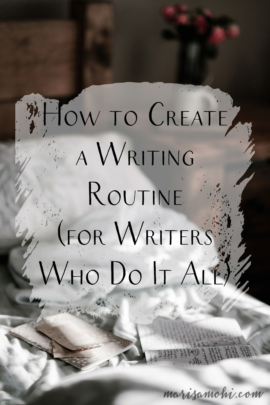 How to Create a Writing Routine (for Writers Who Do It All) | It can be difficult to create a writing routine, especially when you've got a day job and a side hustle and the demands of everyday life. But these tips on how to create a writing routine will help you find what works for you.