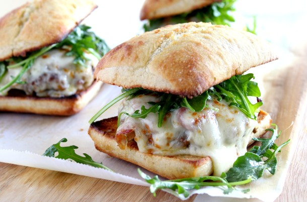 Saltimbocca Burger