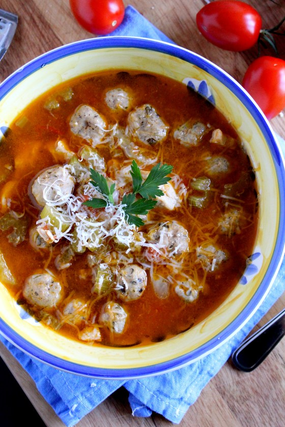 Turkey Meatball Soup