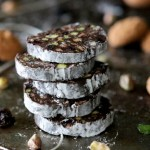 Cherry Amaretto Chocolate Salami