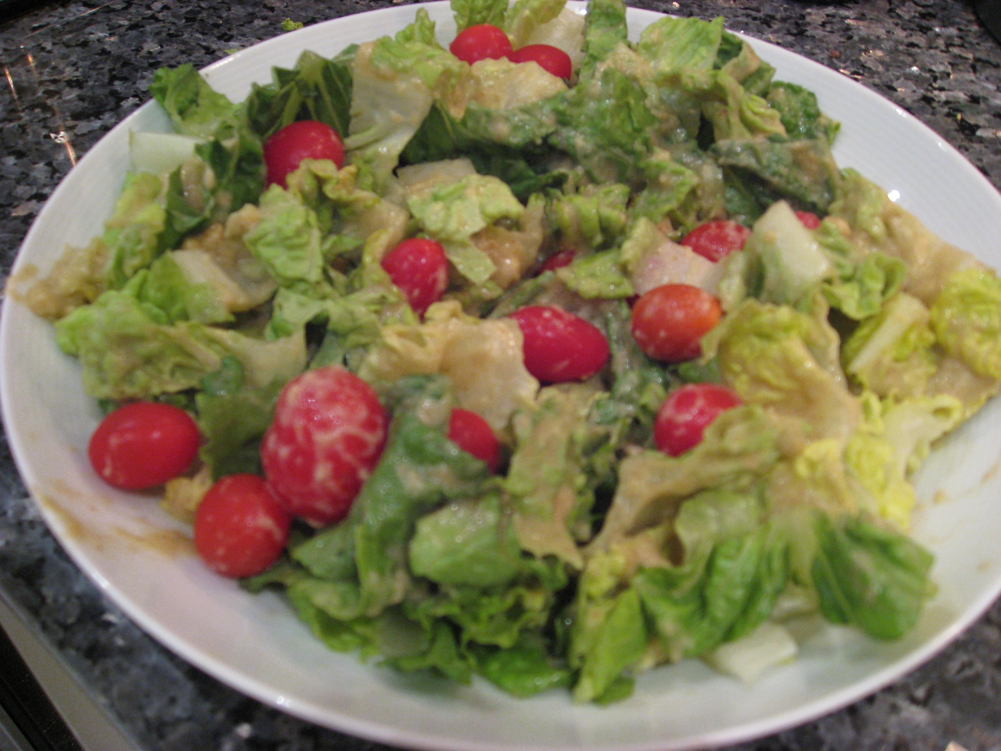 caesar salad from natalia rose