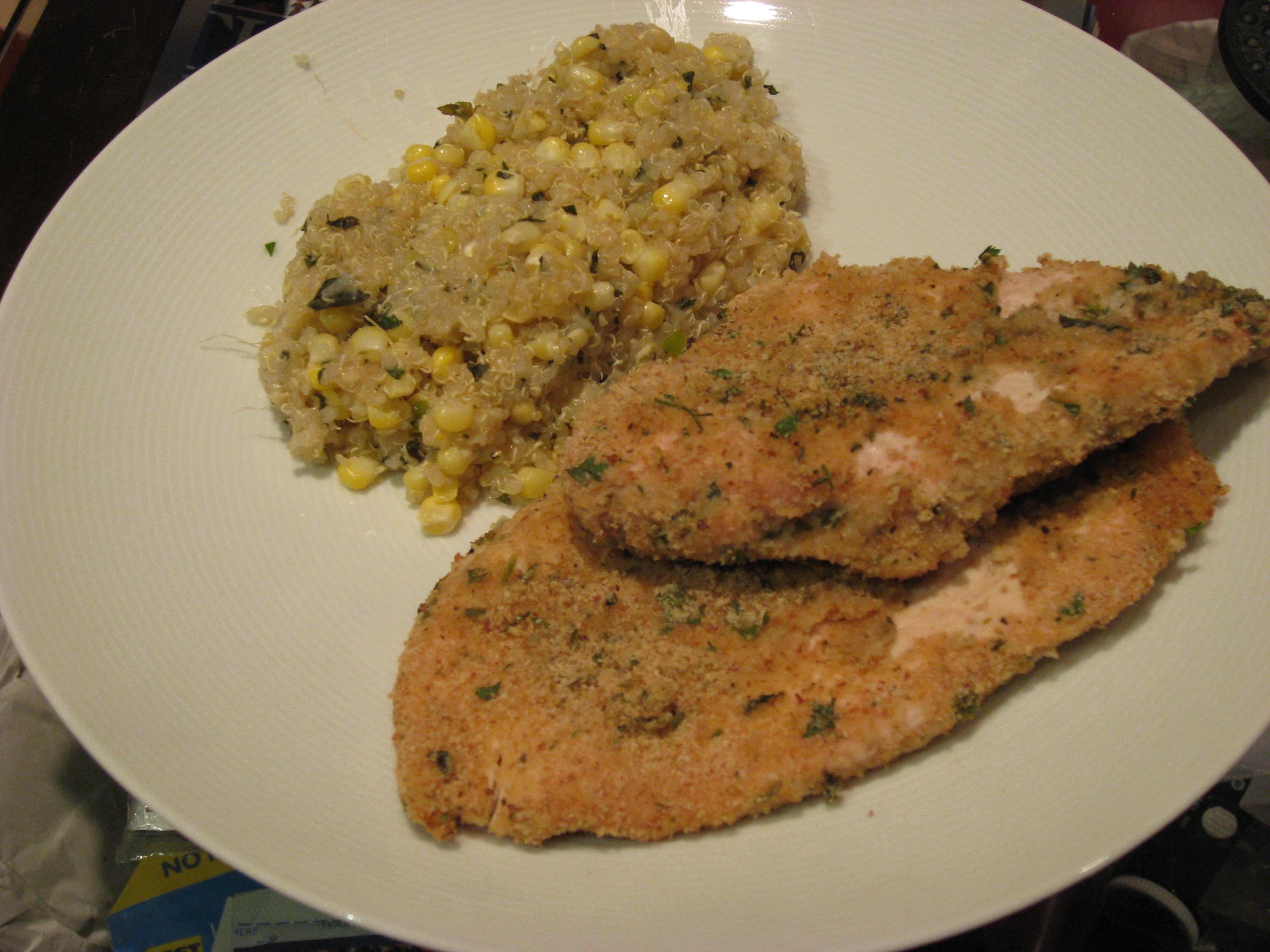chicken & quinoa