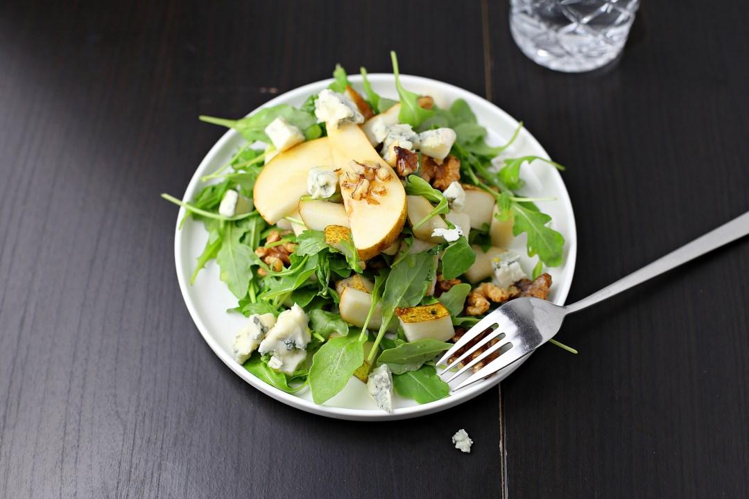 Birnen Gorgonzola Salat