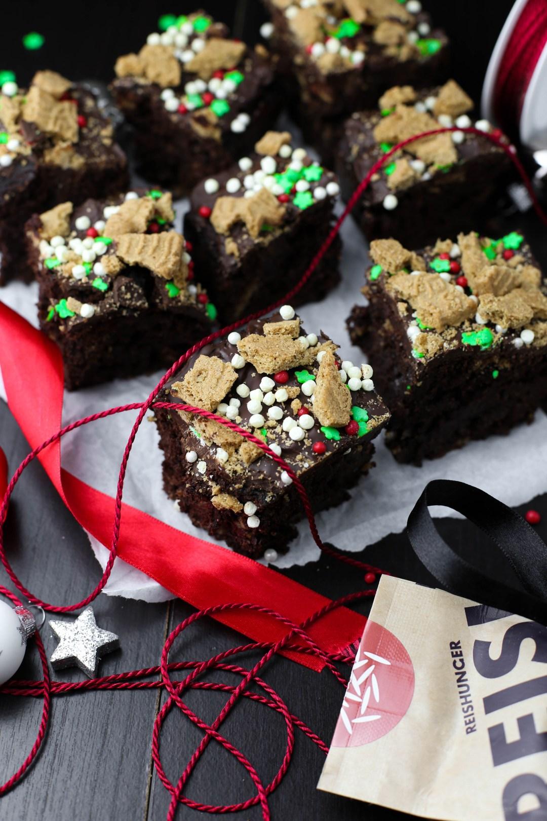 Schokoladen Quinoa Brownies