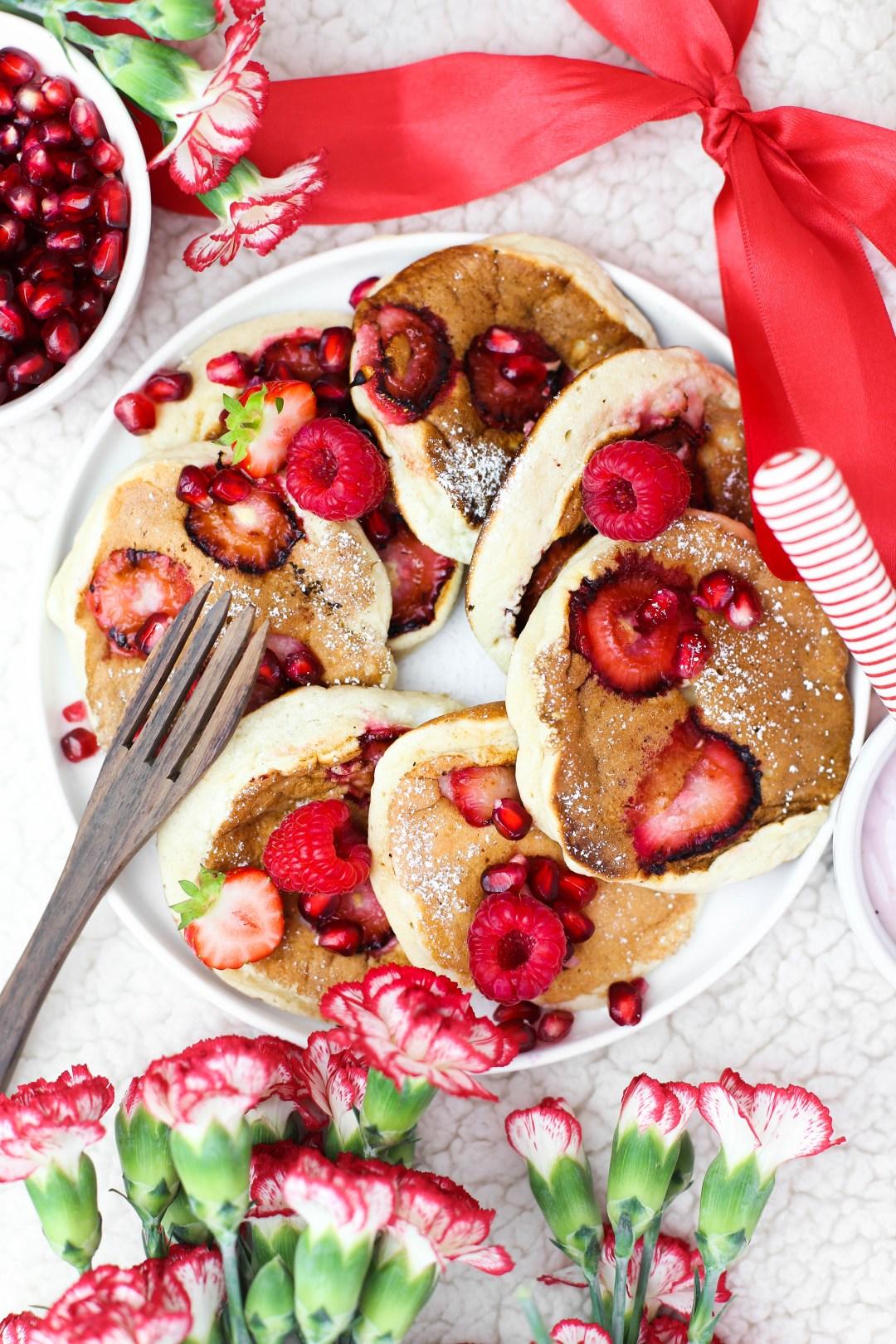 Erdbeerpancakes