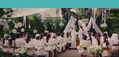 ハナユメ ローラ CM 結婚式場