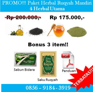 Promo Paket Herbal Ruqyah Mandiri