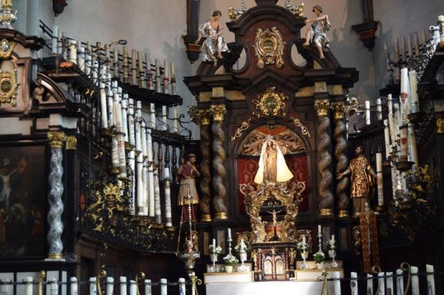 Interieur Kerzenkapelle