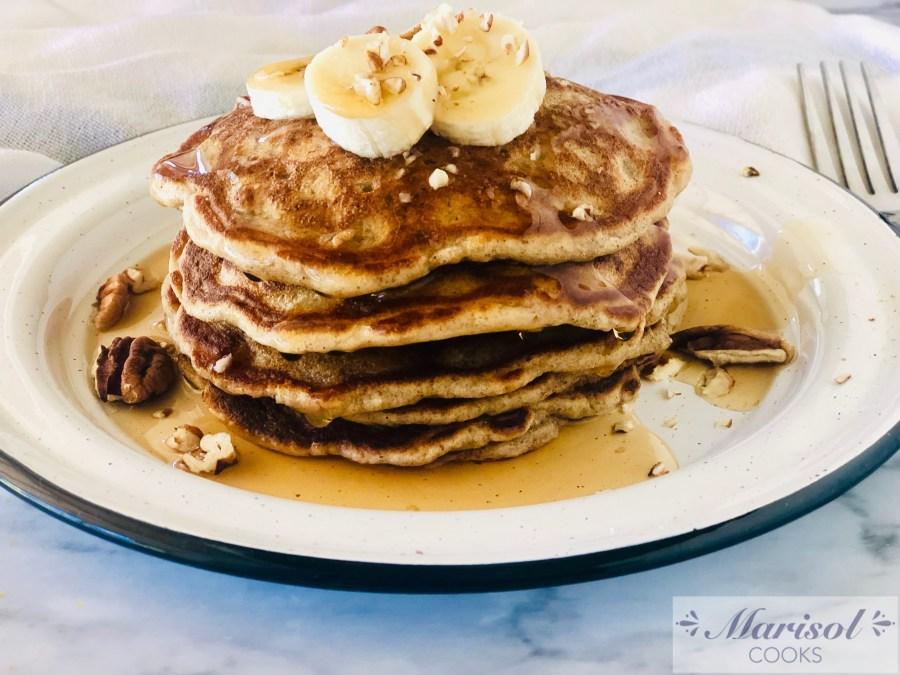 Banana Nut Paleo Pancakes