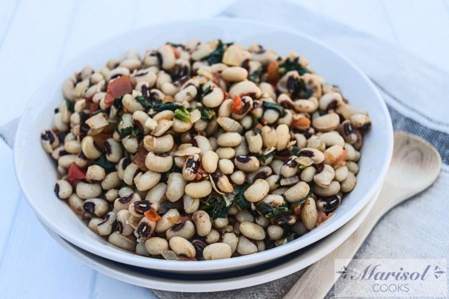 Spicy Black-eyed Peas