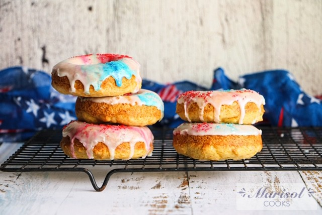 Sour Cream Baked Donuts