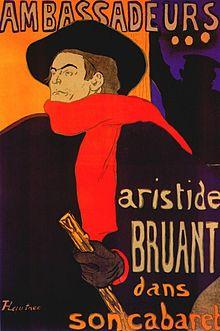 Ambassadeurs: Aristide Bruant dans son cabaret
