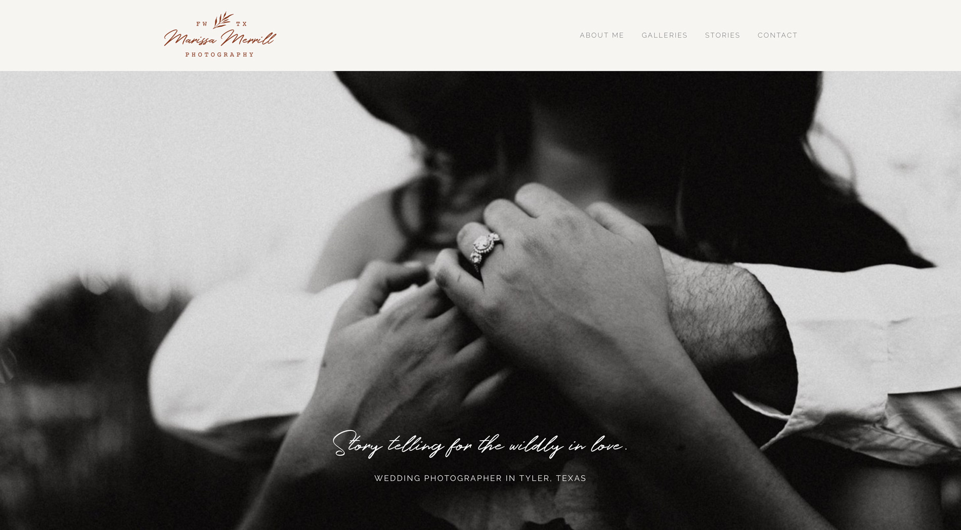 home page screen image