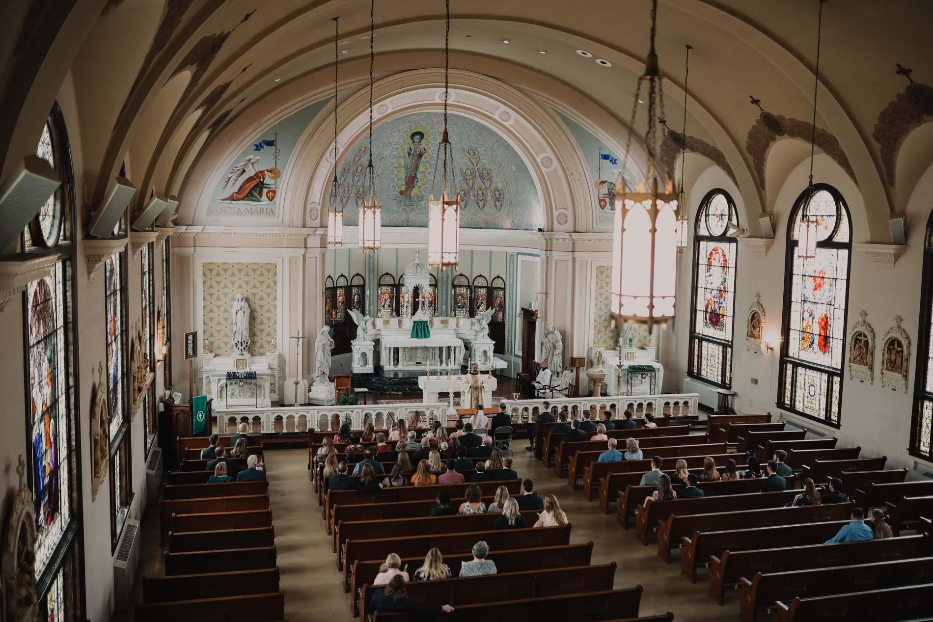 Catholic Church ceremony space