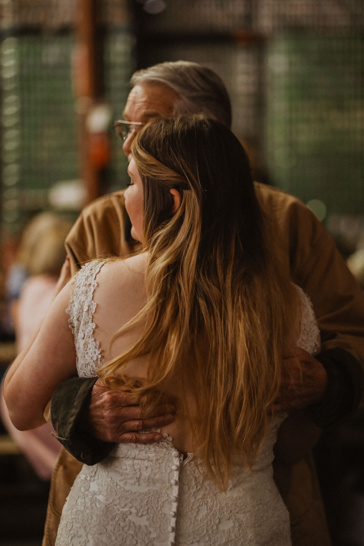bride dancing with grandpa