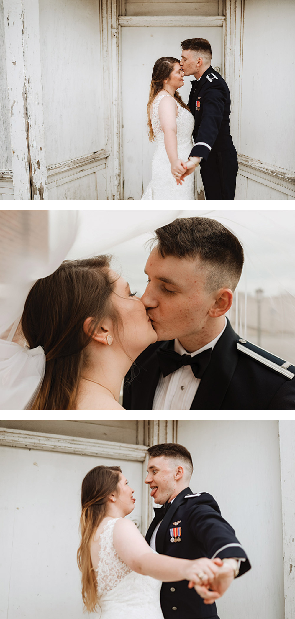 the sweetest bride and groom portraits that you will ever see!