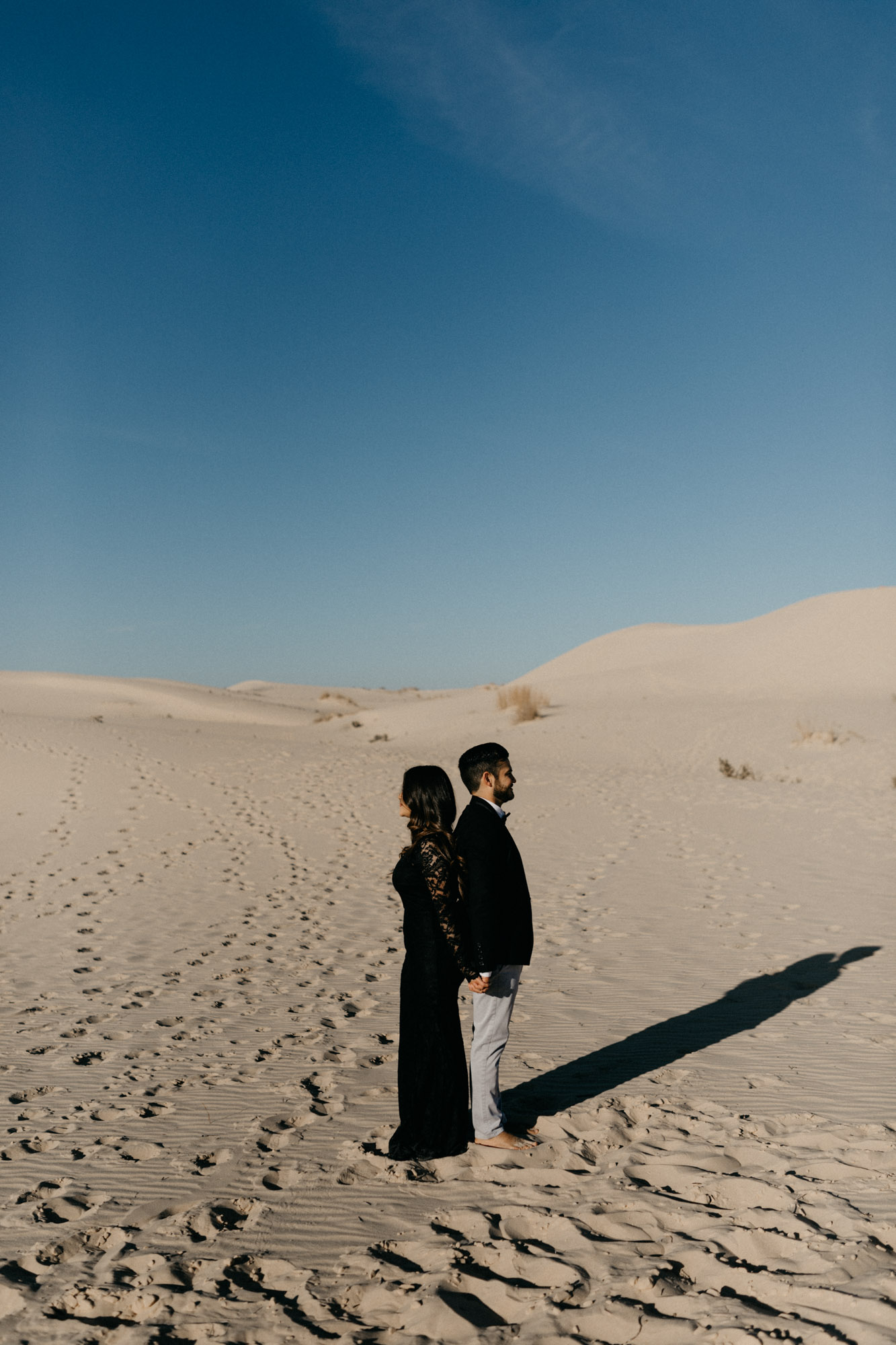 This desert inspired engagement session was so romantic it'll leave you wishing you were getting married