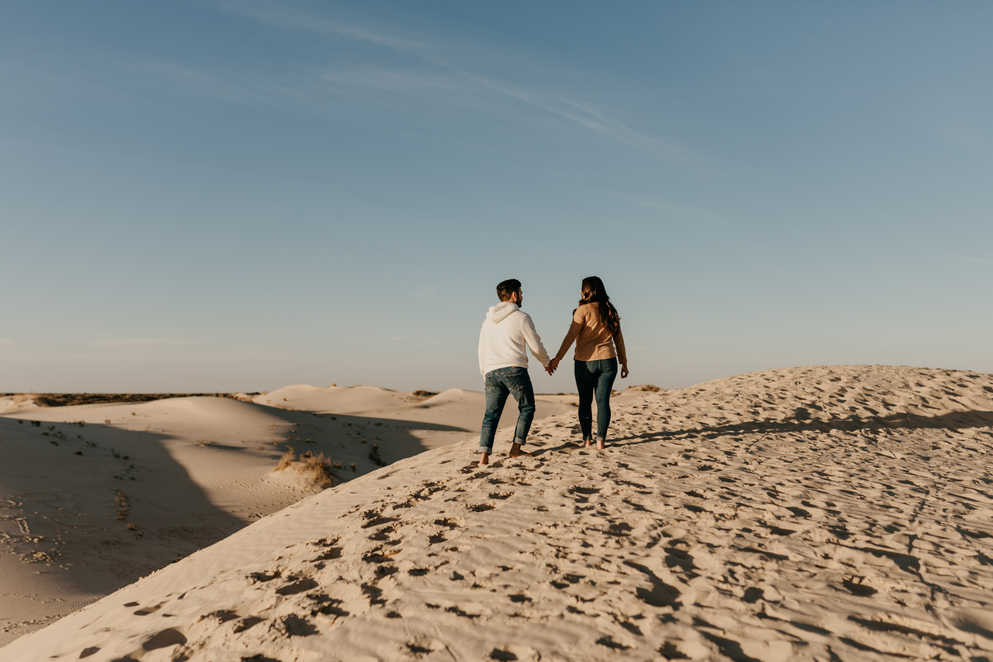 This engagement session will leave you feeling adventurous