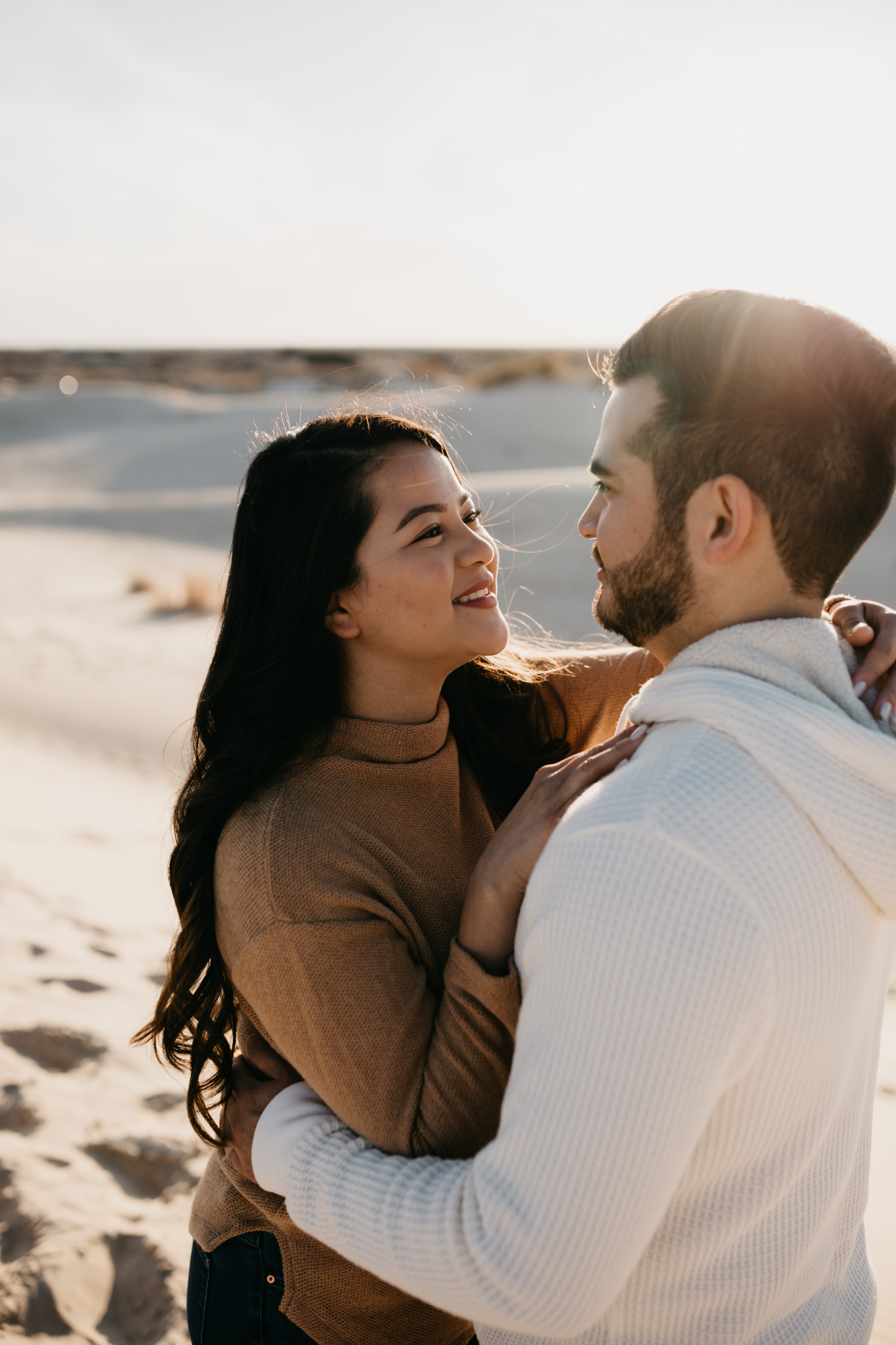 How to get a couple to be natural and candid during their engagement photos