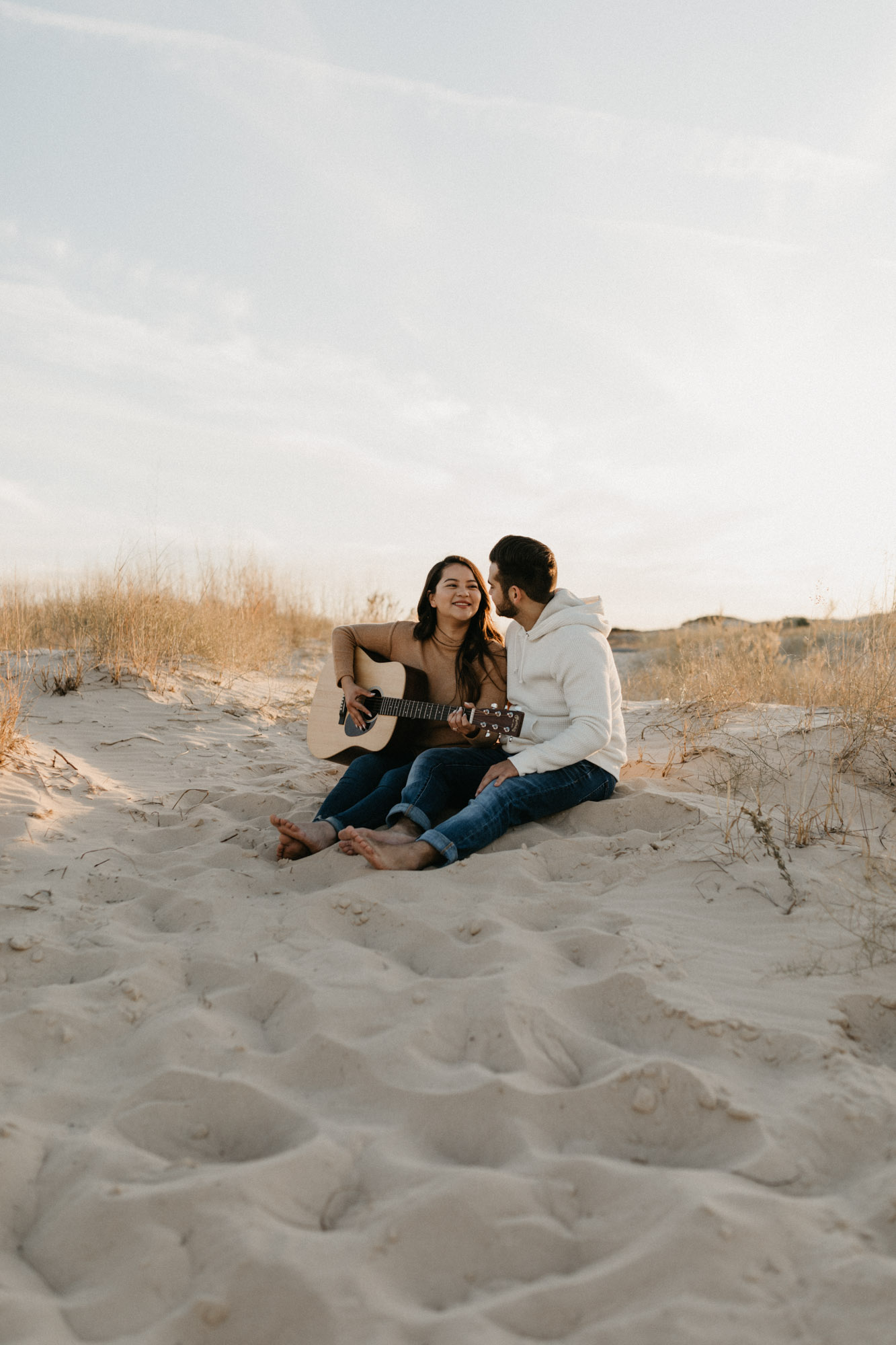 This sand hills engagement session will leave you feeling inspired to travel