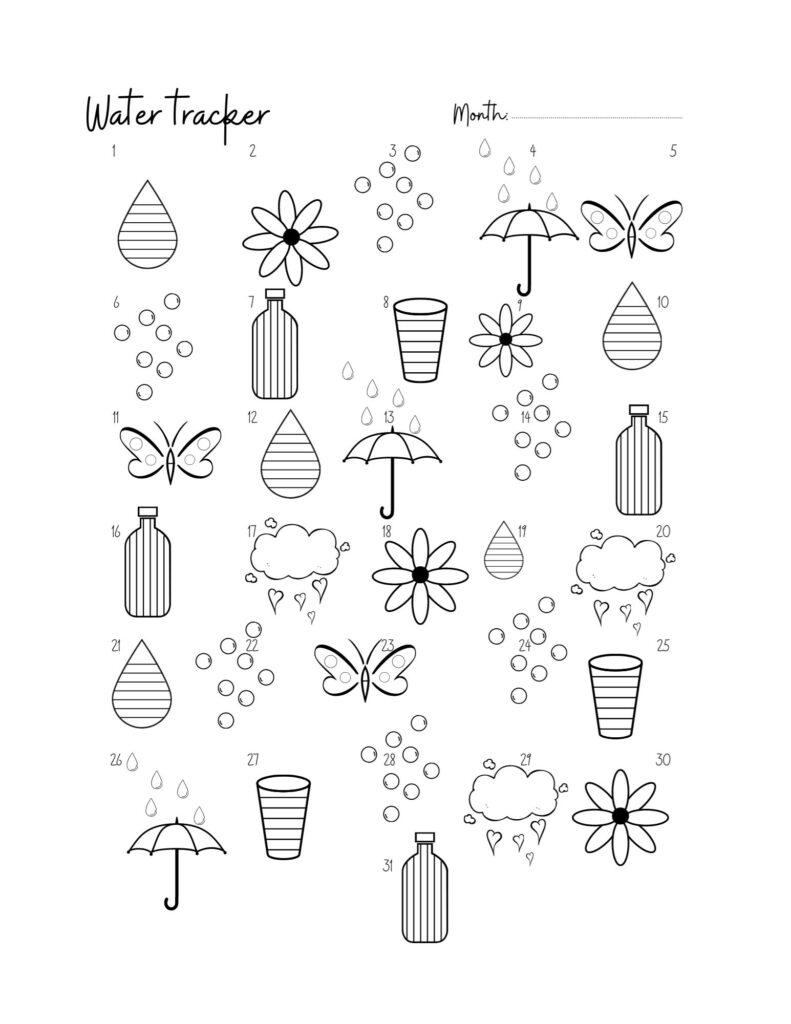 water-tracker-printable-pdf