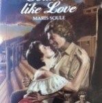 The original Harlequin Temptation cover. Sounds Like Love, published 1986