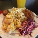 """Ukrainian food today...no big deal #valleycafe #marist"" (@samic14)"