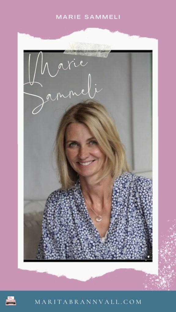 Marie Sammeli - En författarresa - Marita Brännvall