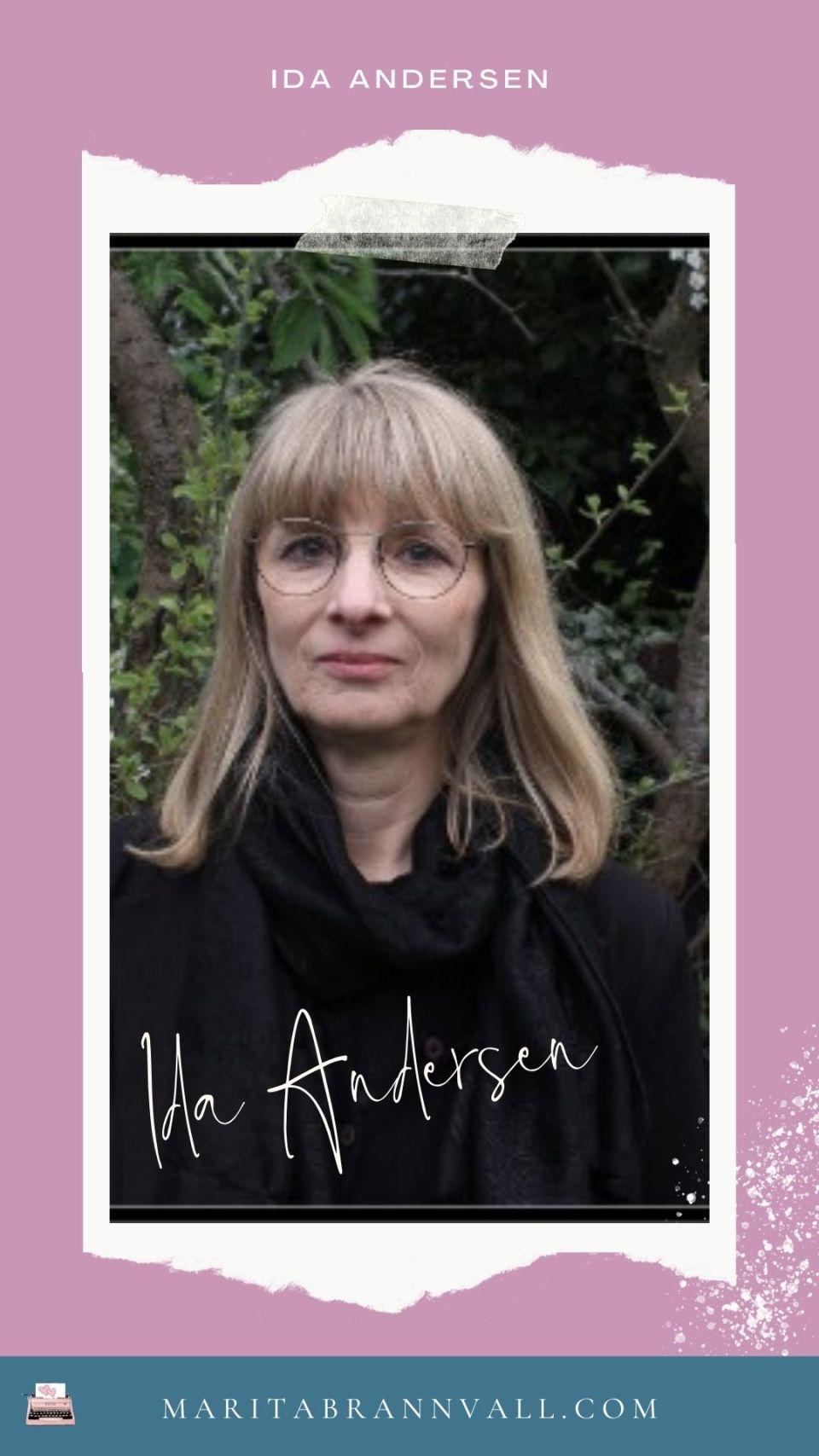 Ida Andersen gästbloggar hos Marita Brännvall - Ge aldrig upp