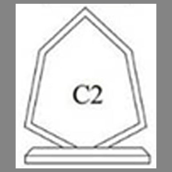 แบบโล่ห์อะคริลิก C2