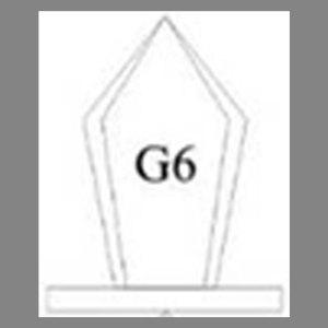 แบบโล่ห์อะคริลิก G6
