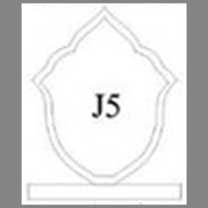 แบบโล่ห์อะคริลิก J5