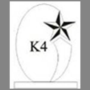 แบบโล่ห์อะคริลิก K4