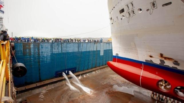 Ships Cruise Water Slides